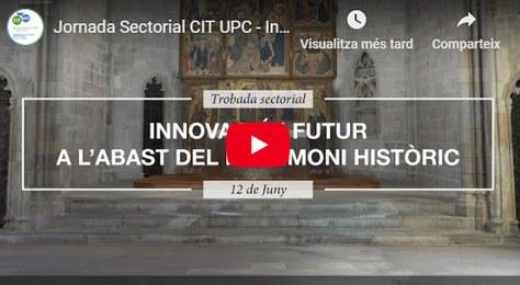"""Sectorial meeting Recap video: """"INNOVACIÓ I FUTUR A L'ABAST DEL PATRIMONI HISTÒRIC"""""""