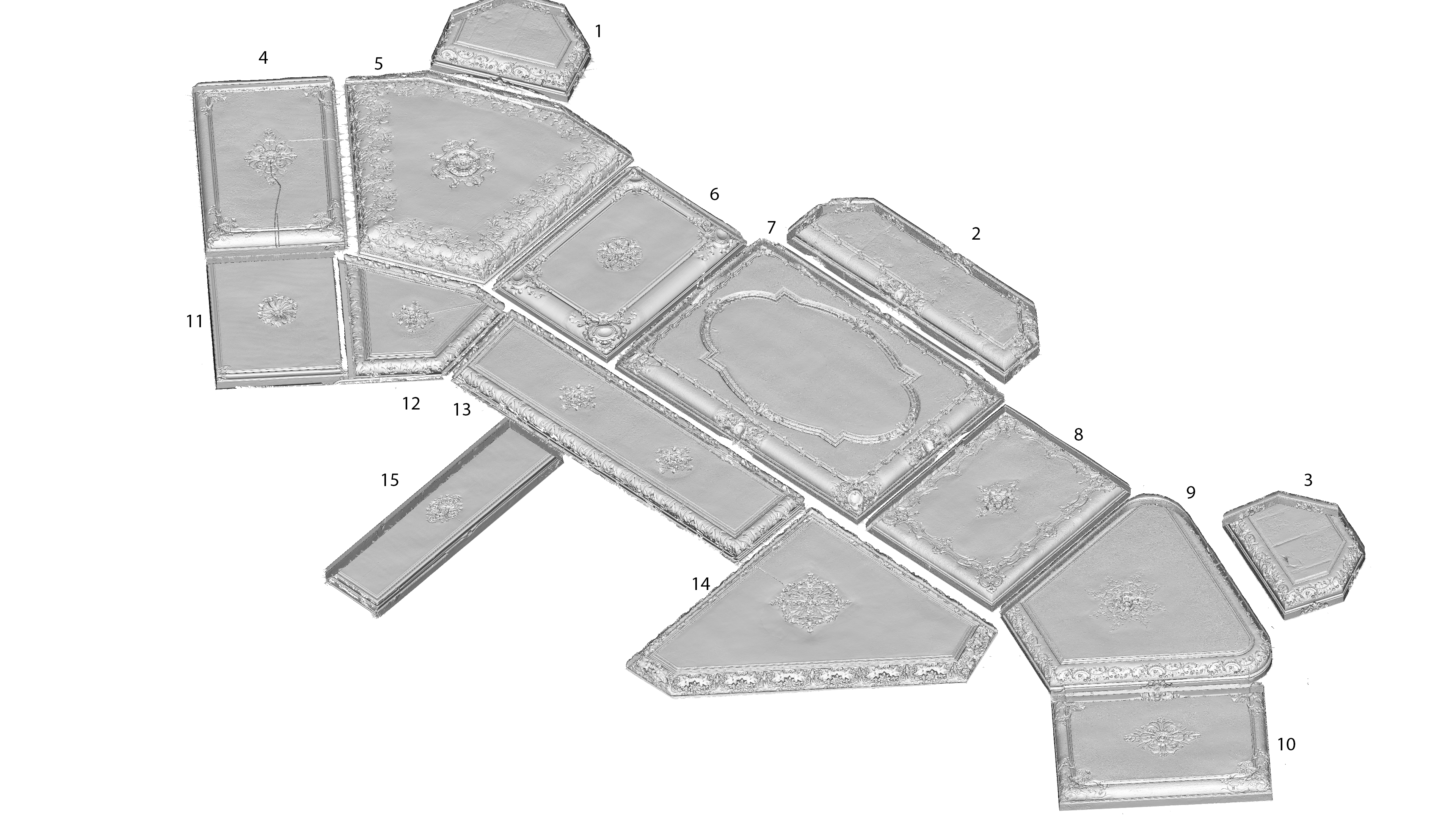 Modelos 3D impresión